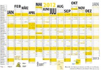 Jahreskalender 2012