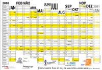 Jahresplaner 2010 vom FoeBuD